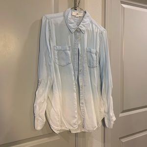 Thread & Supply Ombré Denim Wash Button Up
